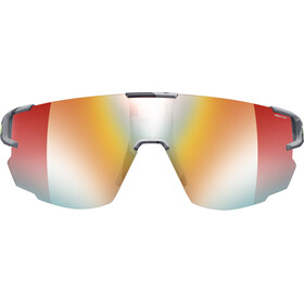 Julbo Aerospeed Segment Light Red Lunettes de soleil, grey/yellow/multilayer red